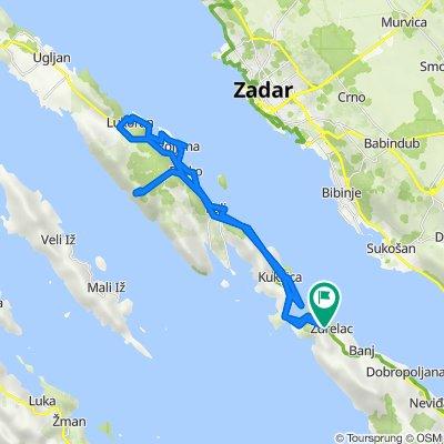 Tour de Ugljan (start from Zdrelac, Pasman)