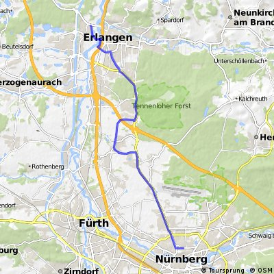 erlangen nrnberg Bikemap Your bike routes