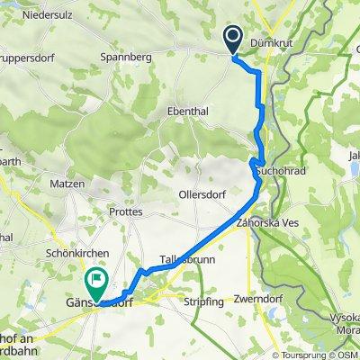 Friembergerweg 4, Waidendorf nach Rathausplatz 9, Gänserndorf