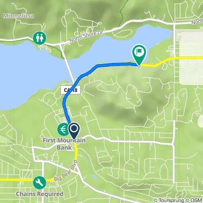 42151 Big Bear Blvd, Big Bear Lake to 42705–42737 Big Bear Blvd, Big Bear Lake