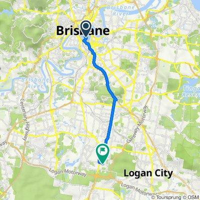 2B George Street, Brisbane to 39 Honeysuckle Way, Calamvale