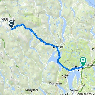 Helgesetviki 25, Flå to Hans Aanruds vei 49, Oslo