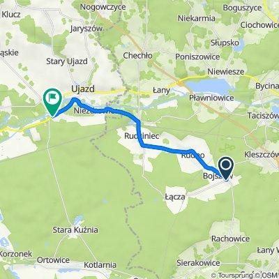 Kościuszki 22A, Bojszów do Droga Krajowa 40 12, Kędzierzyn-Koźle