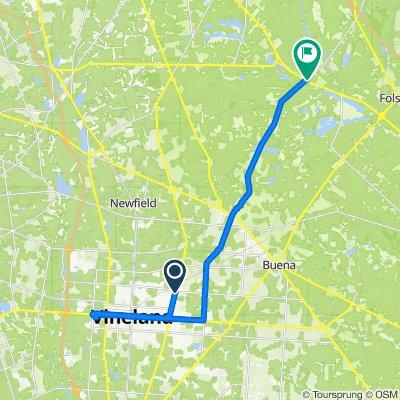 970 N Main Rd, Vineland to 4312 S Black Horse Pike, Williamstown