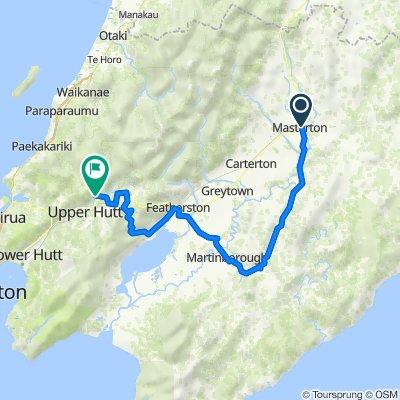 TA17 - Masterton to Upper Hutt