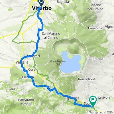 Via Francigena in Bici - Tappa B21 - Da Viterbo a Sutri