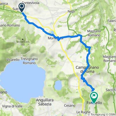 Via Francigena in Bici - Tappa B22 - Da Sutri a Formello