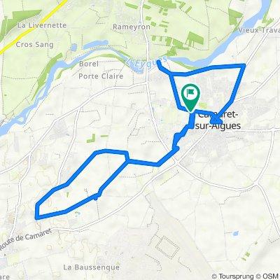 De 210 Chemin de la Chapelle, Camaret-sur-Aigues à 256 Chemin de la Chapelle, Camaret-sur-Aigues