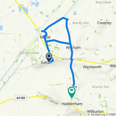 High Street 40, Sutton to Station Road 43, Haddenham