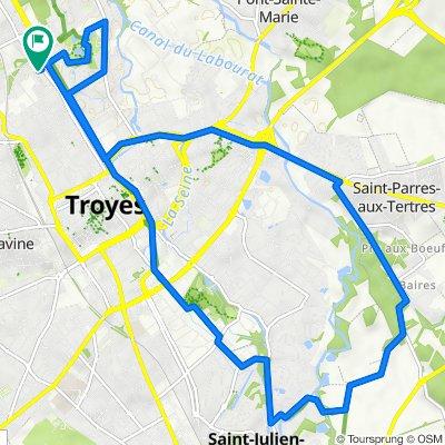 De 165bis Rue de Preize, Troyes à 165bis Rue de Preize, Troyes