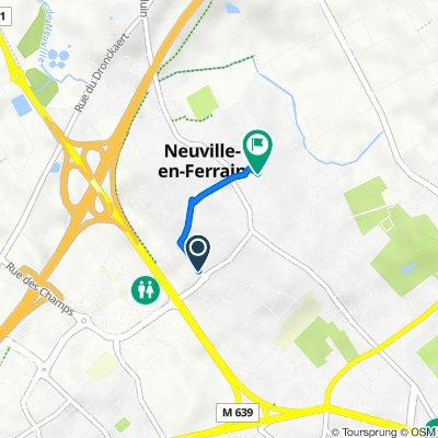 De 34 Rue du Docteur Schweitzer, Neuville-en-Ferrain à 7 Rue Ambroise Paré, Neuville-en-Ferrain