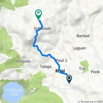 Arban, Rizal to Unnamed Road, Rizal