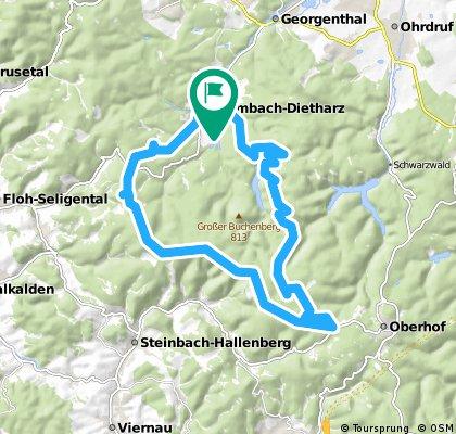 Rund um Tambach-Dietharz via Grenzadler/Oberhof