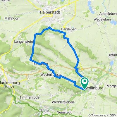 Rundfahrt Quedlinburg - Spiegelsberge - Quedlinburg