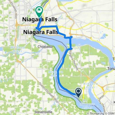 2226 W Oakfield Rd, Grand Island to 4365–4397 Bridge St, Niagara Falls