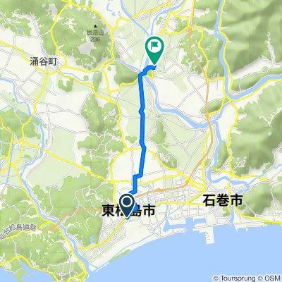 264-2, Yamoto Sakaemachi, Higashimatsushima to 県道21号, Ishinomaki