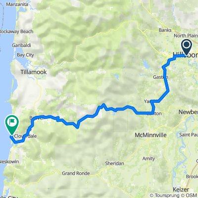 Portland to Coast Route 3 (pref)