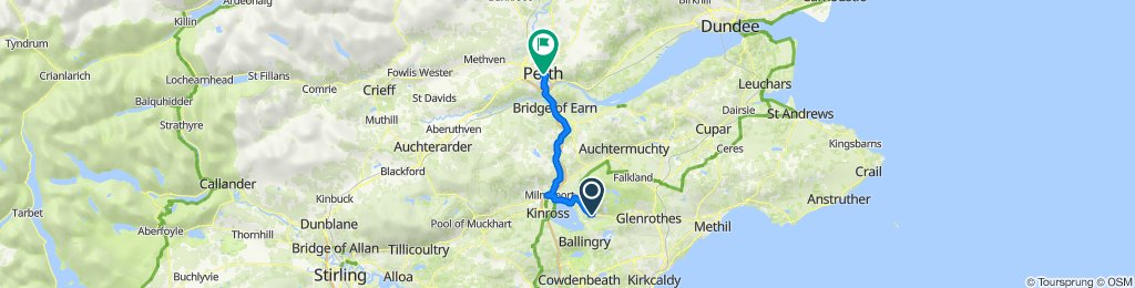 Scotlandwell to Perth