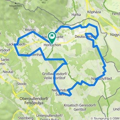 Rotweinradweg + Schlösser
