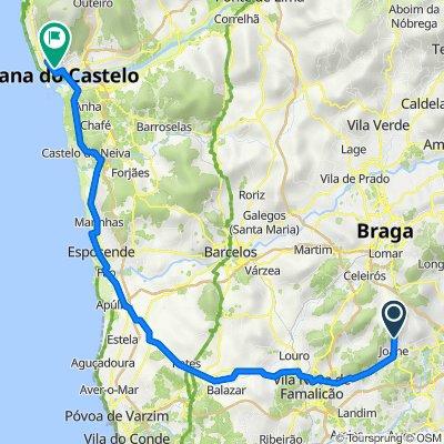 De Rua Senhora Misericórdia 522, Airão (Santa Maria) a N13-6 1940, Viana do Castelo