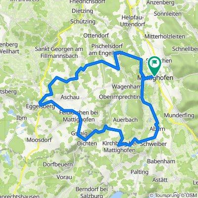 Mattighofen - Eggelsberg - Mattighofen