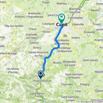 De Rue du Hom, Thury-Harcourt à 29 Place Saint-Sauveur, Caen
