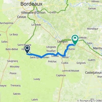 De 66 La Berdotte, Hostens à 3 Le Bourg, Savignac