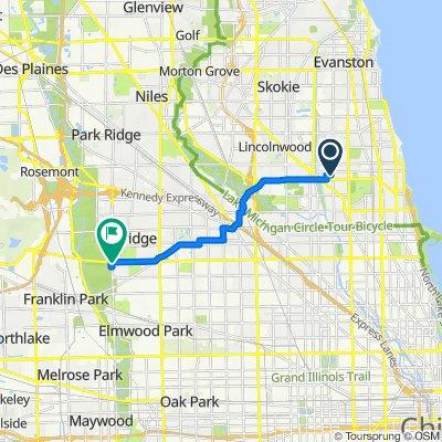 2831–2865 W Glenlake Ave, Chicago to Irving Park Rd, Chicago