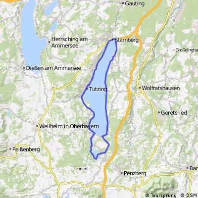 um den Starnberger See und die Osterseen