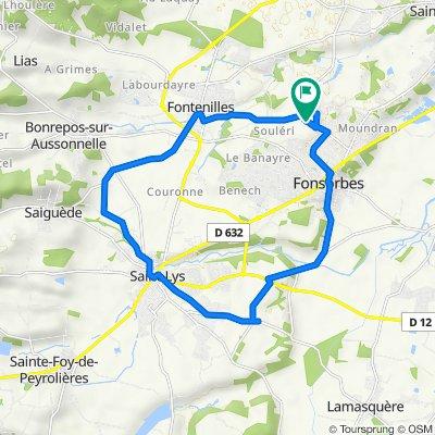 De Chemin Saint-André 12, Fonsorbes à Chemin Saint-André 17, Fonsorbes