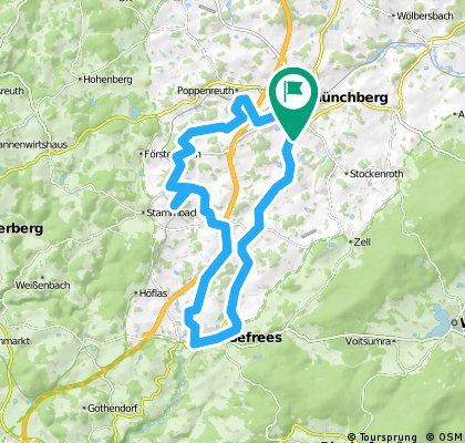 Rundtour ab Münchberg 2