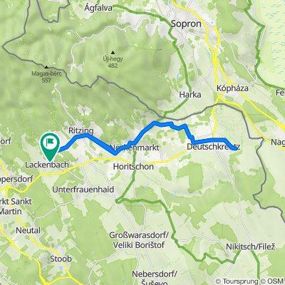 Lackenbach nach Deutschkreuz