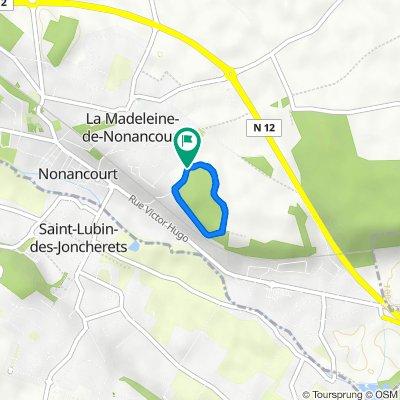 De Rue du Bois Clair 17, La Madeleine-de-Nonancourt à Rue du Bois Clair 17, La Madeleine-de-Nonancourt