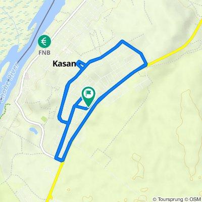 Route to Phuti Crescent 1255, Kasane