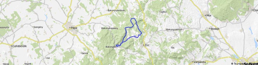 Bakonybél Cuha-völgy Vinye 2011