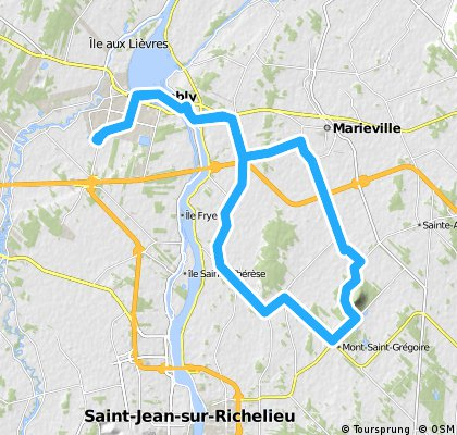 Chambly-Mont St-Grégoire