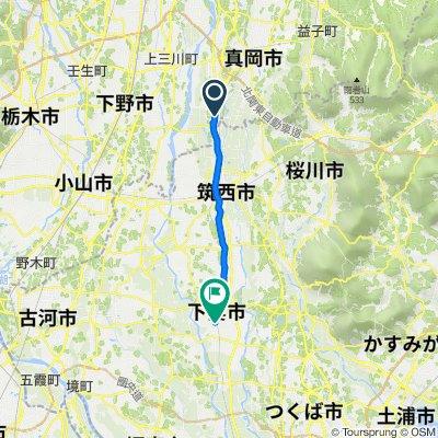 1-chōme, Moka to 872-2, Shimotsuma