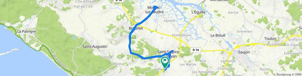 De 4 Rue Roland Moreno, Saint-Sulpice-de-Royan à 28 Rue Gustave Eiffel, Saint-Sulpice-de-Royan