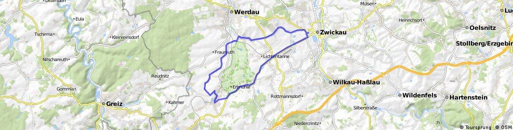 Zwickau - Neumark - Zwickau