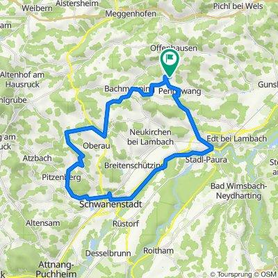 Pennewang - R6 Lambach - Oberndorf bei Schwanenstadt -  Niederthalheim - Pennewang