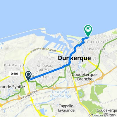 De 13 Rue de l'Égalité, Dunkerque à 16–31 Digue de Mer, Dunkerque