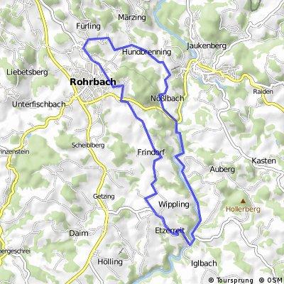 Mühel-Radroute | Böhmerwald
