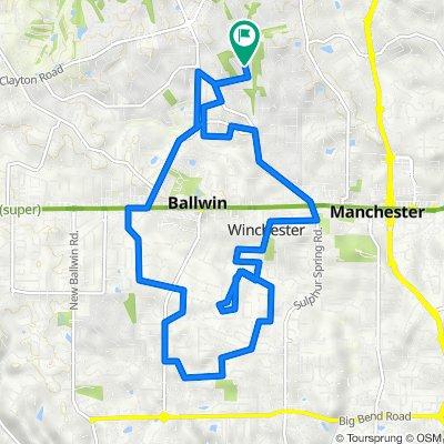 313 Wildbrier Dr, Ballwin to 313 Wildbrier Dr, Ballwin