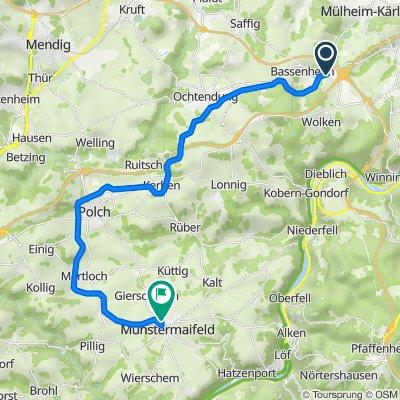 Bassenheim-M-Maifeld 27km