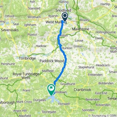 New Road 96, Ditton to Bewlbridge Lane