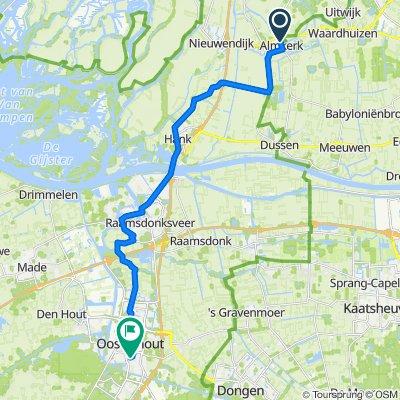 Van Hogendorpstraat 6, Almkerk naar Slotjesveld, Oosterhout