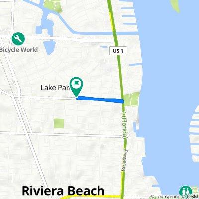 501 Park Ave, Lake Park to 501 Park Ave, Lake Park