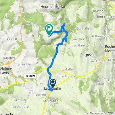 De Laqueuille à Bourgeade, Briffons