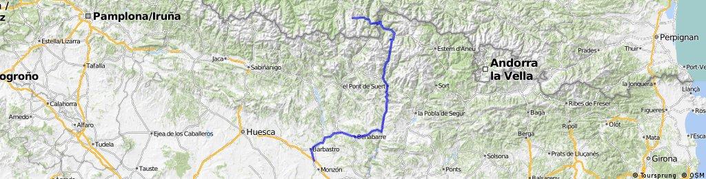 Castejon del Puente - Col d'Peyresourde