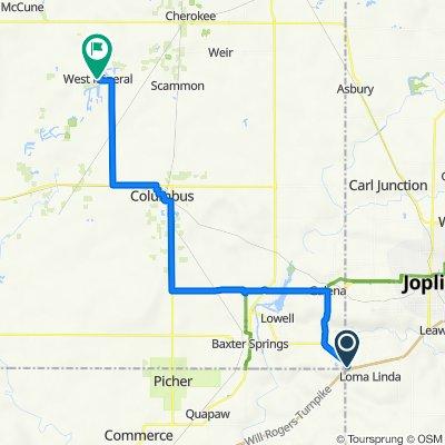 U.S. 166, Joplin to Lyle Street 301, West Mineral